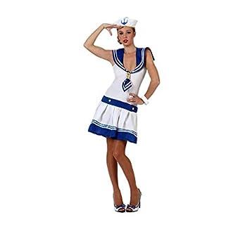 Atosa-39515 Disfraz Marinera, Color Blanco, XS-S (39515): Amazon ...
