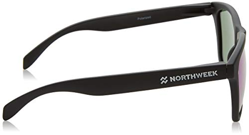 NORTHWEEK Regular, Gafas de Sol Unisex, Matte Black, 45: Amazon.es: Ropa y accesorios