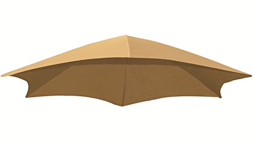 Dune Outdoor Fabric - Vivere DRMUF-SD Dream Chair Replacement Umbrella Fabric, Sand Dune