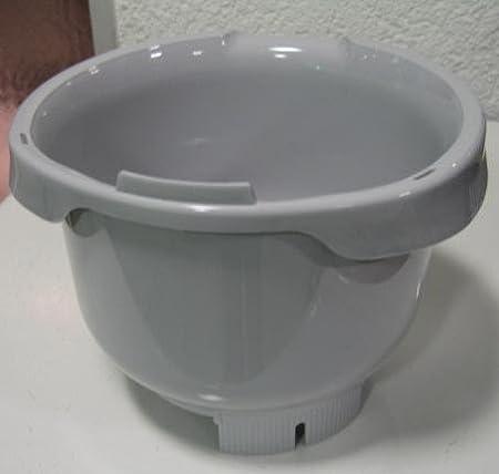 Cuenco gris para robot de cocina Bosch MUM 4, - # 641510: Amazon.es