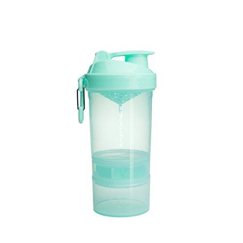 Smartshake Original 2GO, 20 oz Shaker Cup,  Mint Green (Packaging May Vary)