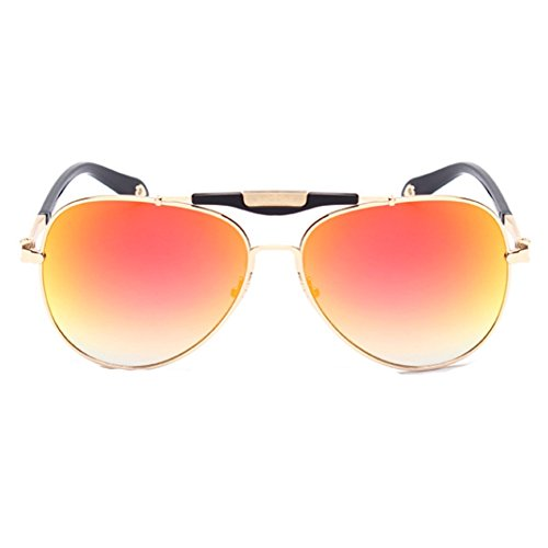 XFIERY SG800046C6 New Style PC Lens Metal Sunglasses,Metal Frames - Lens Oakley Iridium Review