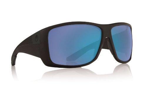 Dragon Sunglasses - Kit / Frame: Matte Black Lens: Blue Ion - Blue Sunglasses Dragon