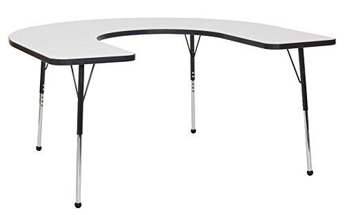 Horseshoe Activity Table (ECR4Kids Dry Erase 60