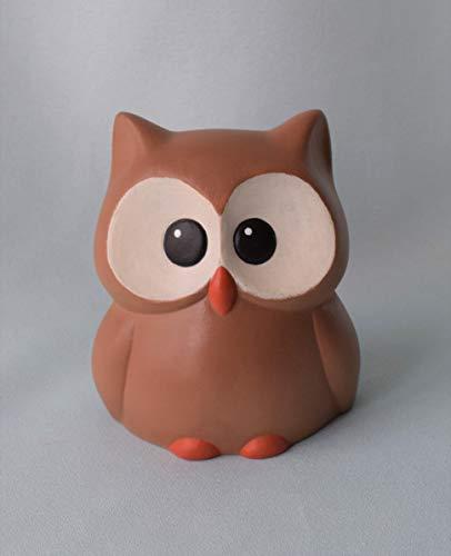 Cute Ceramic Owl Figurine Woodland Animal