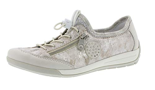 slip Ice Pantofola Rieker 81 slip Casuale Moda Donna scarpe on alla M3063 silverflower metallic rose tqnnxRwvUS
