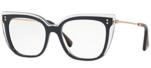Valentino Optical Frames - Valentino VA 3021 Blue Crystal 51/17/140 Women Eyewear Frame