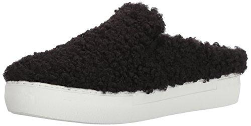 J Slides Women Affair Fashion Sneaker, White, 7.5 US/US Size Conversion M US Black