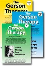 The Gerson Therapy: Healing ''Incurable'' Illness DVD (Vol. 1: Overview and Patient Testimonials, Vol. 2: The Gerson Therapy at Home, Vol. 3: Gerson Therapy Food Preparation) by The Gerson Institute