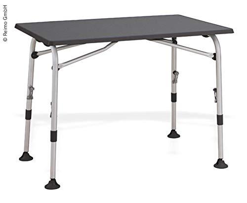 L 120/x B 80/cm mesa de camping altura regulable mesa plegable balc/ón mesa Westfield mesa airc Olite Gris