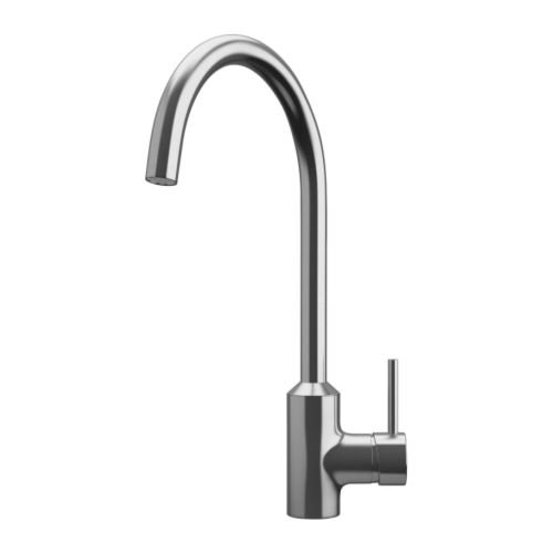 IKEA - RINGSKÄR Single lever kitchen faucet, stainless steel color