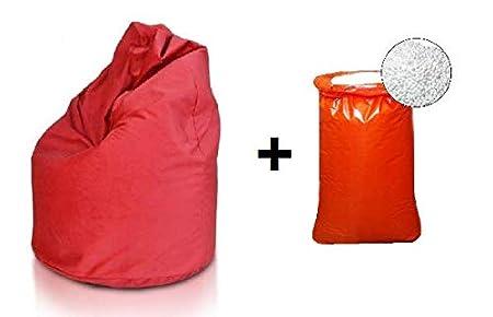 Bepouf poltrona sacco puf pouf vuoto poliestere con sacco
