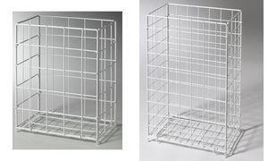 Sammelkorb, 28,5x19x35,5cm, weiß