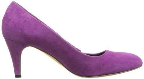Yurkievich Var 4 Vestir Gaspard de 24 Zapatos mujer Rosa cuero M Pink Rose de Tdxq4an