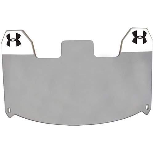 Under Armour Standard Football Helmet Visor, Grey