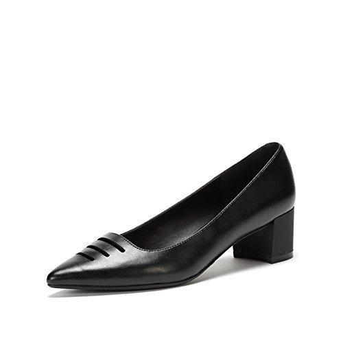 Primavera puntiagudos zapatos de moda/Hueco de zapatos de mujer de luz B