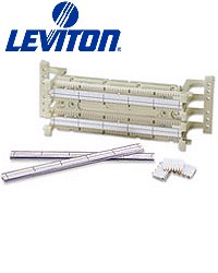 Leviton 41AB2-3F5 GigaMax 5e 110-Style Wall Mount Wiring Blo