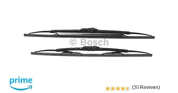 Bosch 3397118404 Twin Spoilers 532S - Limpiaparabrisas (2 unidades, 530 mm y 500 mm): Amazon.es: Coche y moto