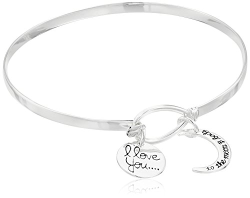 Sterling Silver Catch Bangle Bracelet
