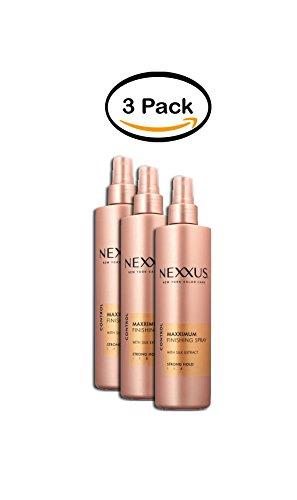 PACK OF 3 - Nexxus Maxximum Hold Finishing Spray, 10.1 oz