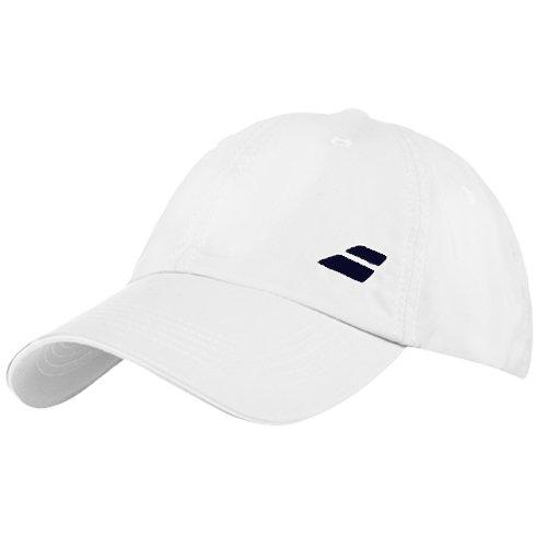 Babolat Hat (Babolat Basic Logo Cap-One Size Fits All-White)