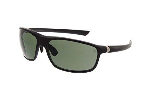 Tag Heuer 27 Degree Polarized Sunglasses Matte Black Fram...