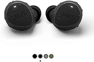 JAYS Bluetooth koptelefoon in oor - m-Seven - Echte Draadloze Sport Earpods koptelefoon tot 38h batterijduur geschikt...