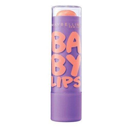 Maybelline New York bébé Lèvres Baume Hydratant, Kiss Peach, 0,15 once