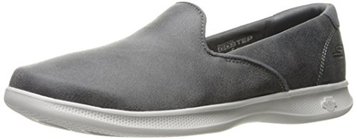 Step Performance Charcoal Determined Flat Women's Loafer Skechers Go Lite 4PtZggx