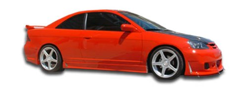 2001-2005 Honda Civic 2DR Duraflex B-2 Side Skirts Rocker Panels - 2 Piece