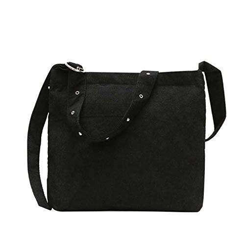 pour Black pour les bandoulière Tote femmes le Sacs à Sunonip Velvet shopping YUzqOFn