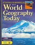 World Geography Today, Holt, Rinehart and Winston Staff, 0030380367