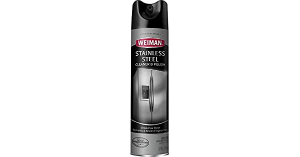 Amazon.com: Limpiador y esmalte en aerosol para acero ...