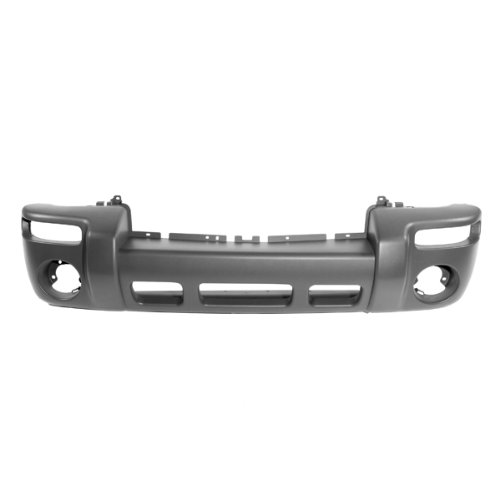 CarPartsDepot 352-26138-10-GY FRONT BUMPER COVER TEXTURED MATTE DARK GRAY W/FOG HOLE ()