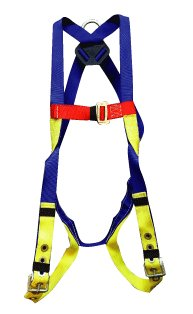 Elk River 52104 Polyester/Nylon Freedom EZE-Wear 1 D-Ring Harness with Tongue buckle, Fits Large to X-Large by Elk River