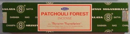 Nag Champa Patchouli Forest - 40 Gram Box - Satya Sai Baba Incense