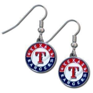 texas rangers earrings - 1