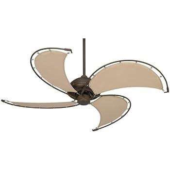 52 Quot Cool Vista Oil Rubbed Bronze Ceiling Fan Amazon Com