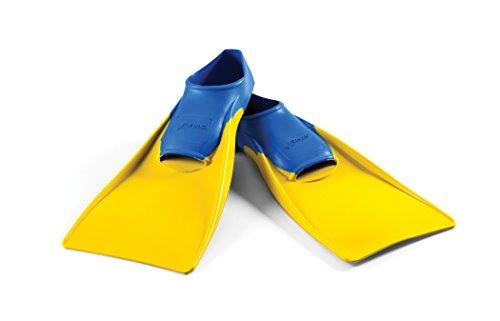 Long Floating Fin 1-3 Blue/Yellow