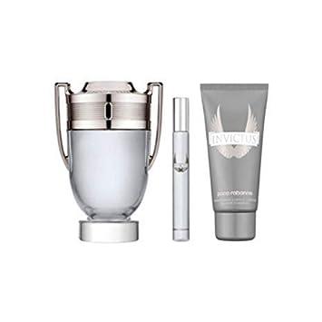 Amazoncom Paco Rabanne Invictus 3 Pc Gift Set Eau De Toilette