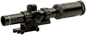 7. CenterPoint 1-4x20 MSR Rifle Scope with Offset Picatinny Mount and Glass Reticle