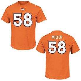 d9dafaf17 ... shirt navy f783b ec28f; shop von miller 2017 18 denver broncos mens  majestic orange eligible receiver name and number t