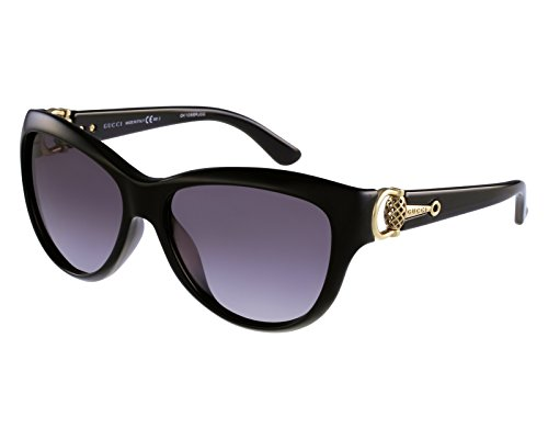 Gucci Gg3711/s 58mm 100% Authenitc Women's Sunglasses Black - Gucci Purple Sunglasses