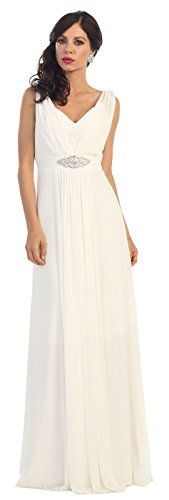 5e732a8bd3 May Queen MQ1260 Simple Sleeveless Bridesmaids Gown (18