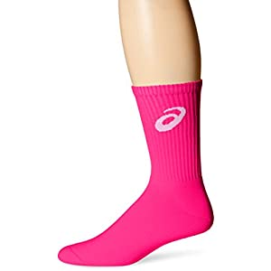 ASICS Team Crew Sock, Pink Glow, Large