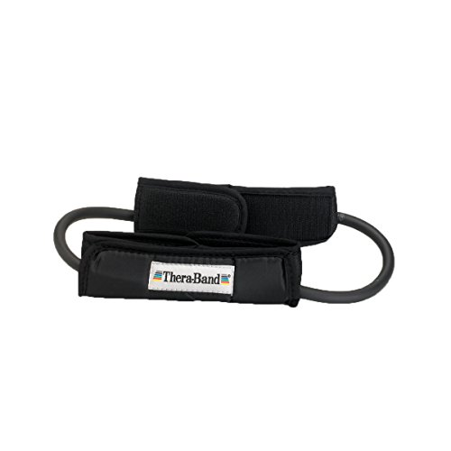 TheraBand Resistance Tubes with Padded Cuffs, 12
