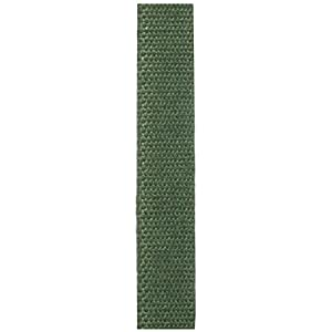 1 Inch Wide Green Hemp Canvas Webbing Your Choice of Length