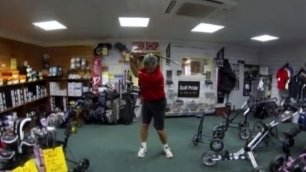 Indoor Golf Swing Trainer, PGA Endorsements, 4 strokes off over 18 holes, 90 day GUARANTEE! by Golf Swing Right Now (Image #6)