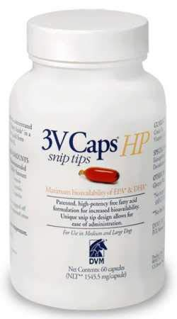 3V Caps Skin Formula HP SNIP TIP for MEDIUM & LARGE DOGS (60