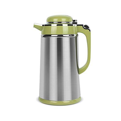 (Stainless Steel Water Bottle Thicken Small Kettle For Household/Office/Tea House Etc. Green 1000ml/1300ml/1600ml/1900ml (color : 1000ml))